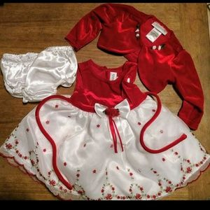 Other - Vintage styled Christmas dress
